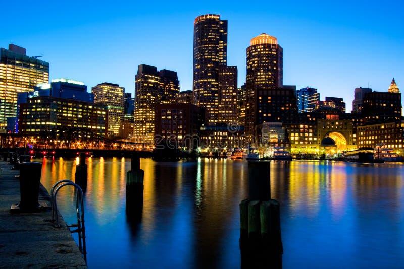 гавань boston стоковые изображения