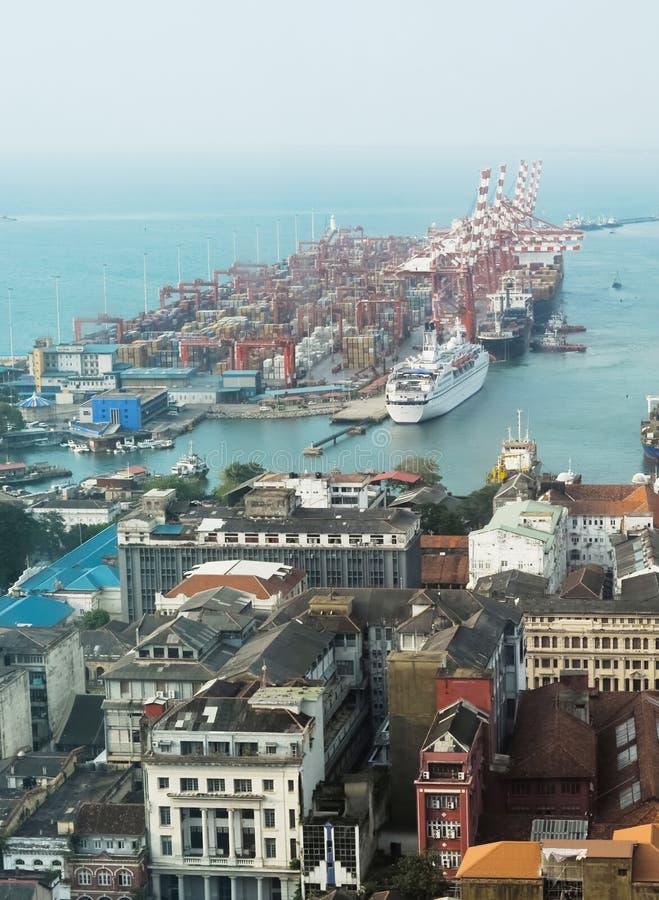 гавань colombo стоковые изображения rf