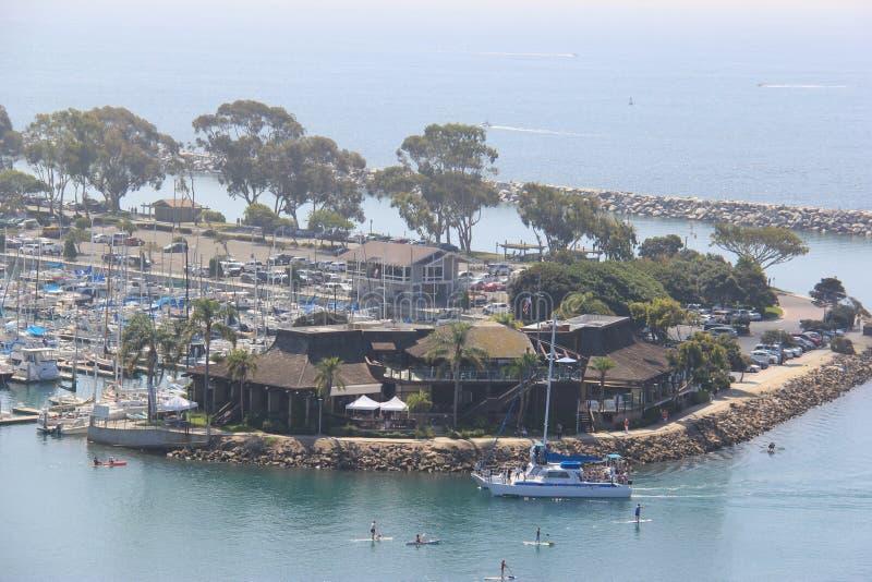 Гавань Dana Point стоковые изображения rf