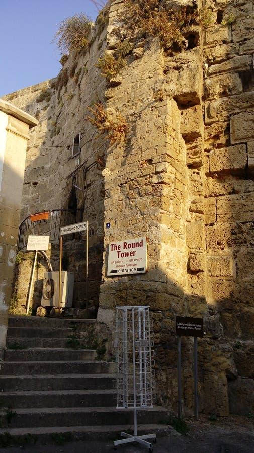 Гавань girne Кипра стоковые изображения