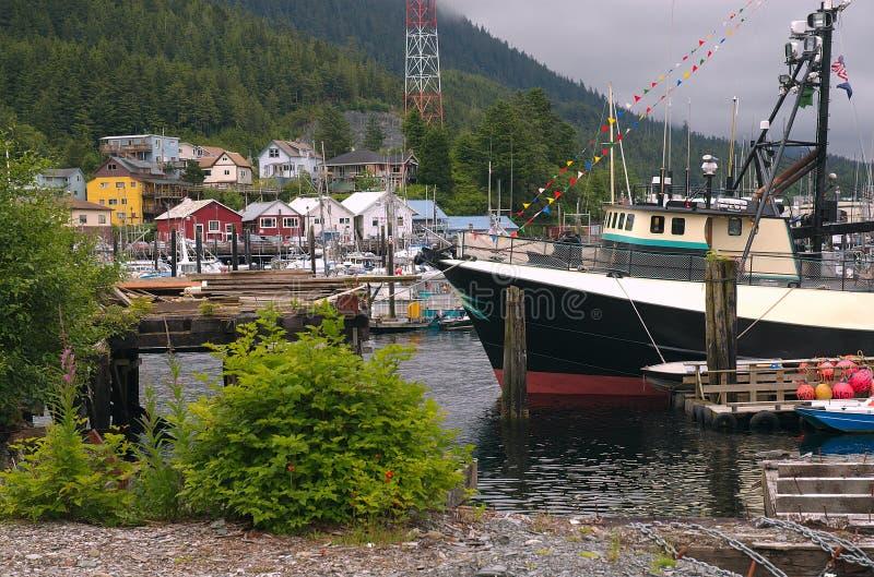 гавань ketchican стоковая фотография rf