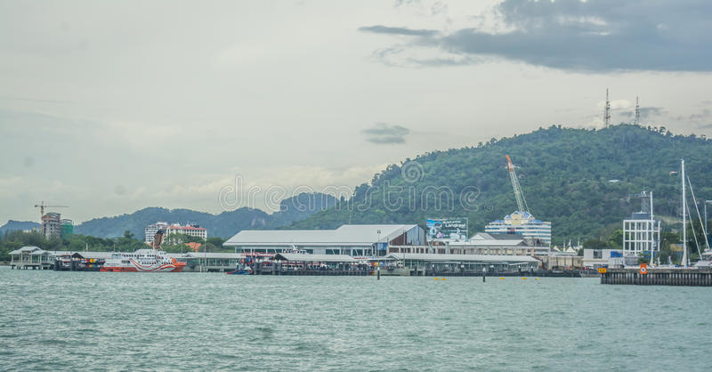 Гавань Langkawi стоковые фотографии rf