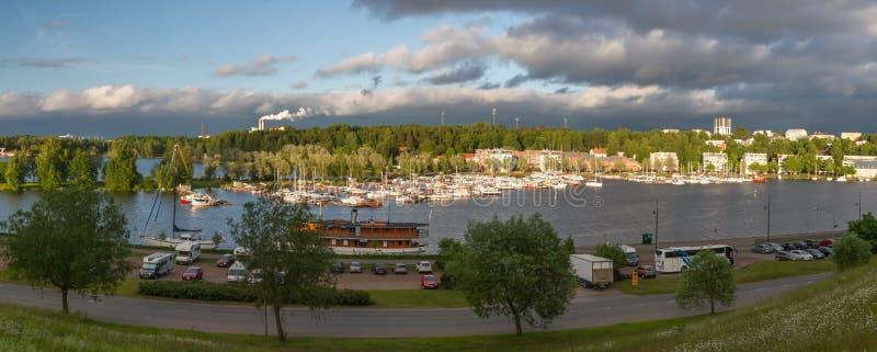 Гавань Lappeenranta стоковое фото