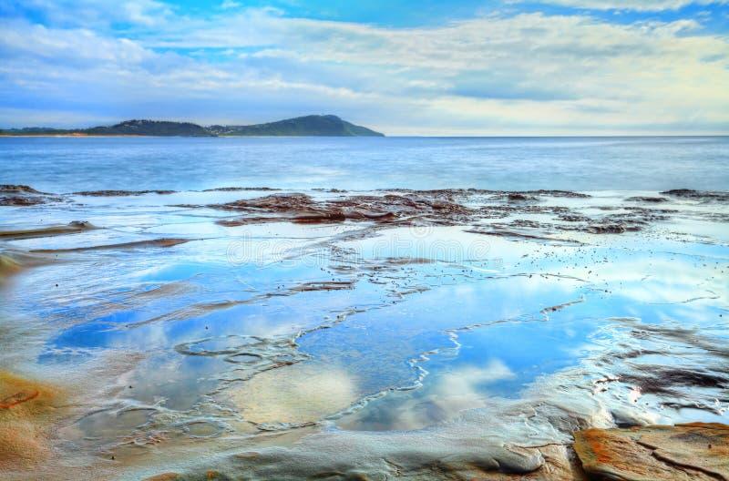 Гавань NSW Австралия Terrigal стоковая фотография