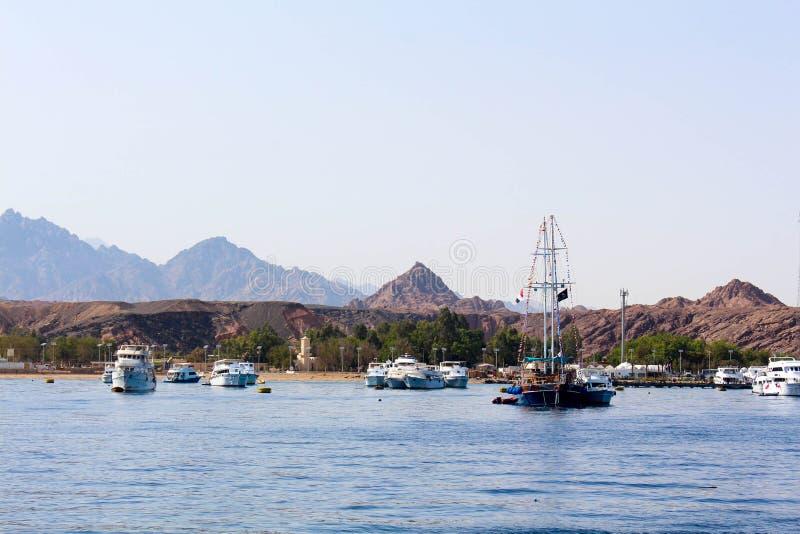 Гавань Sharm El Sheikh стоковое изображение