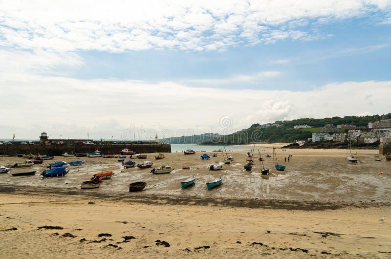Гавань St Ives стоковое изображение rf