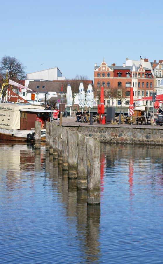 Гавань Stralsund стоковая фотография rf