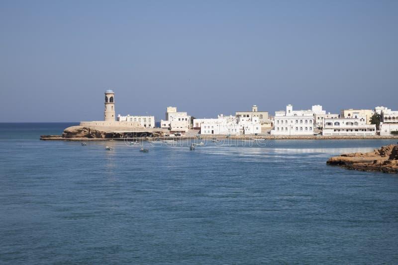 Гавань Sur, Омана стоковое фото
