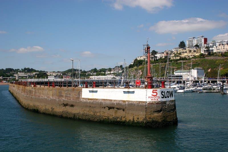 гавань torquay стоковая фотография rf