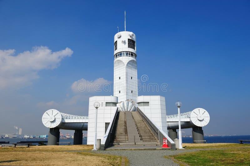гаван башня yokohama символа стоковое фото