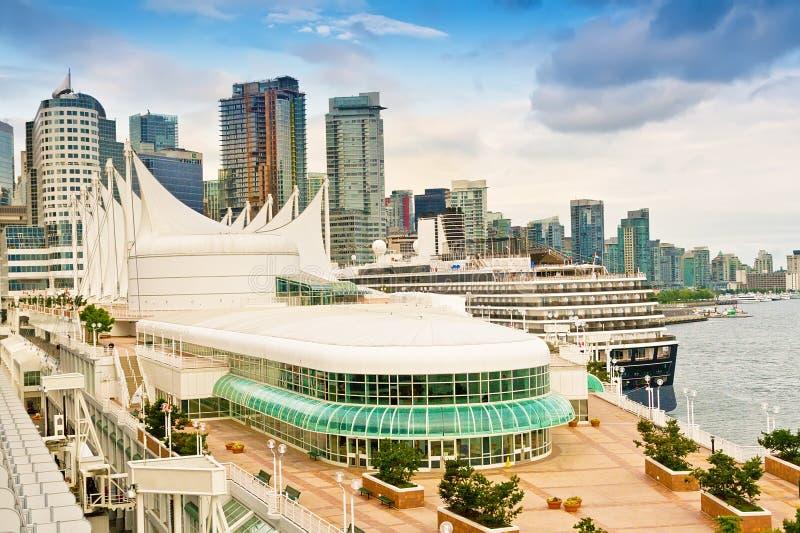 Гаван Ванкувер и горизонт города стоковое изображение rf