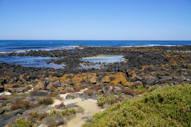 Гаван фея прибрежный город в юго-западном Виктория, Австралии стоковое фото
