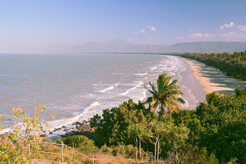 Гаван douglas Австралия пляж 4 миль стоковое фото