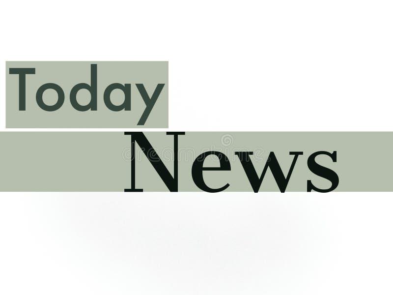 Газета ТВ обложка новостей сегодня в красивом стиле стоковые изображения
