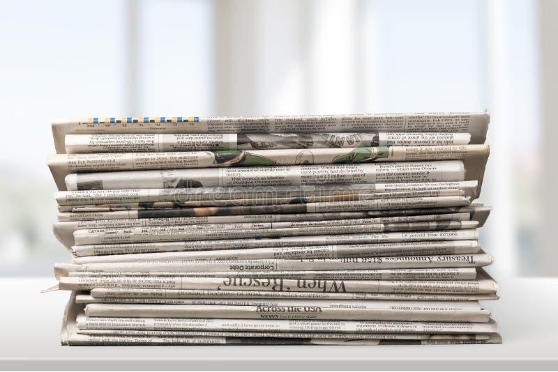 Газета стоковые фотографии rf