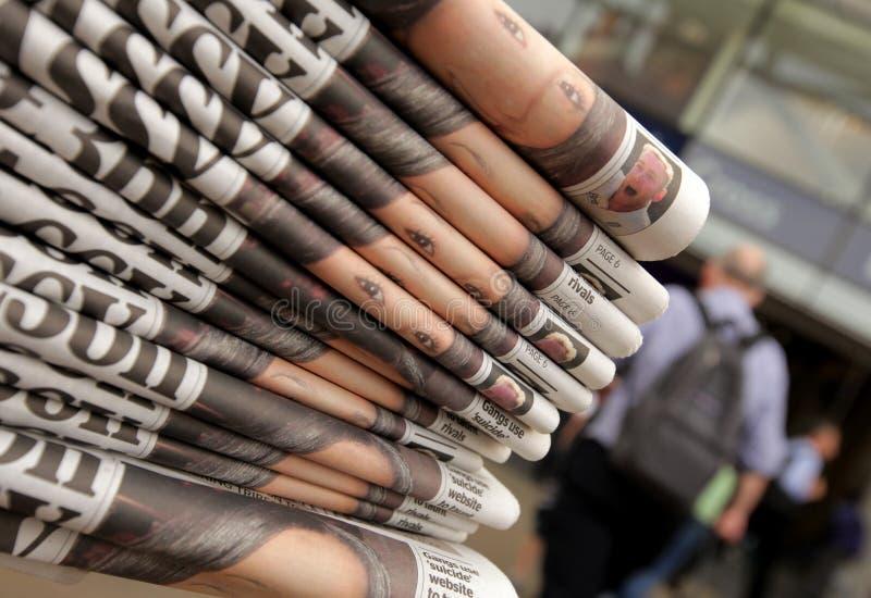 Газетный киоск стоковые изображения rf