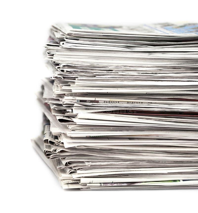 газеты 1 стоковые изображения