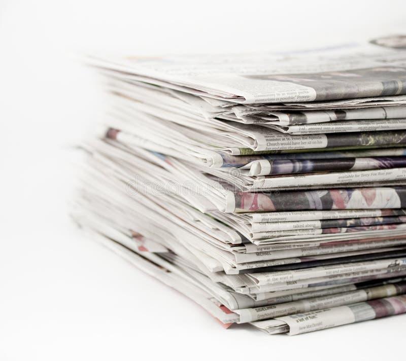 газеты 1 стоковое изображение rf