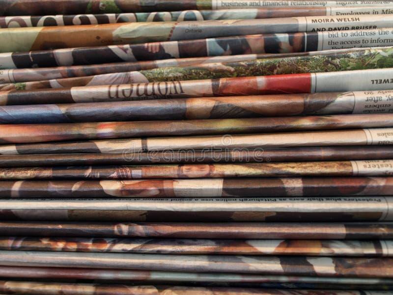Газеты стоковое фото rf
