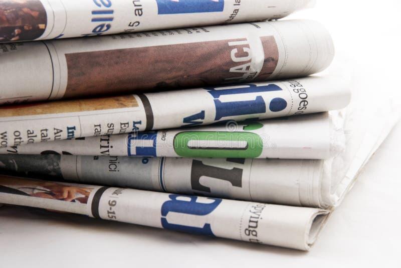 газеты стоковое изображение