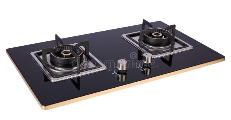 Газовая плита кухни стоковое фото rf