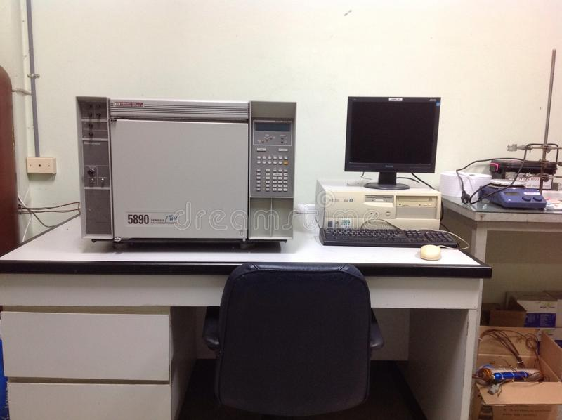 Газовая хроматография стоковые изображения