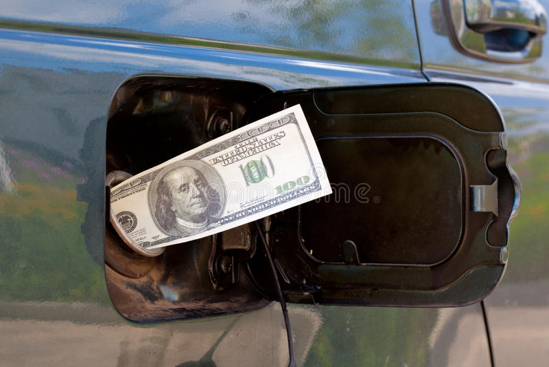 газовые цены стоковые изображения