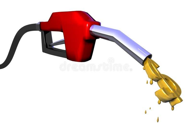 газовый насос иллюстрация вектора