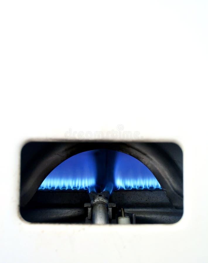 газ боилера отечественный стоковая фотография rf