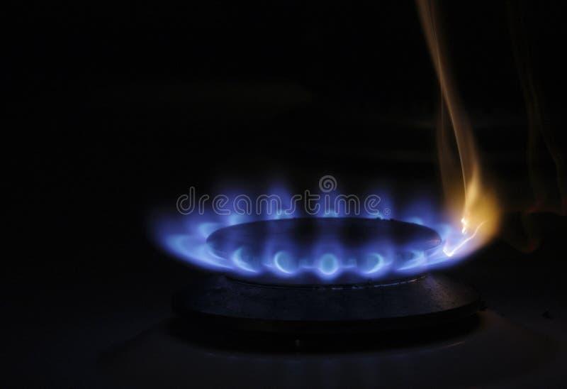 газ горелки стоковое изображение rf