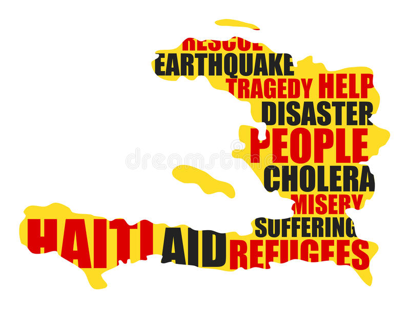 Гаити иллюстрация вектора