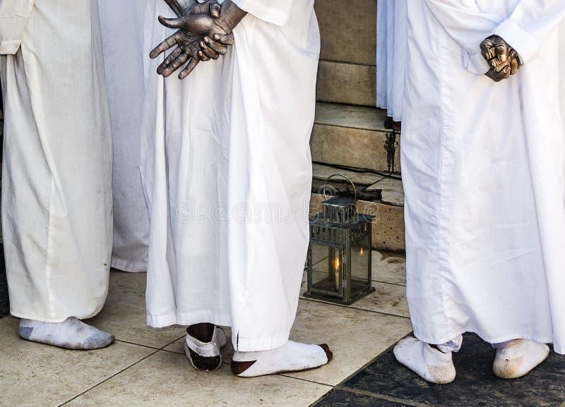 Гаитянская молитва Vodou стоковая фотография