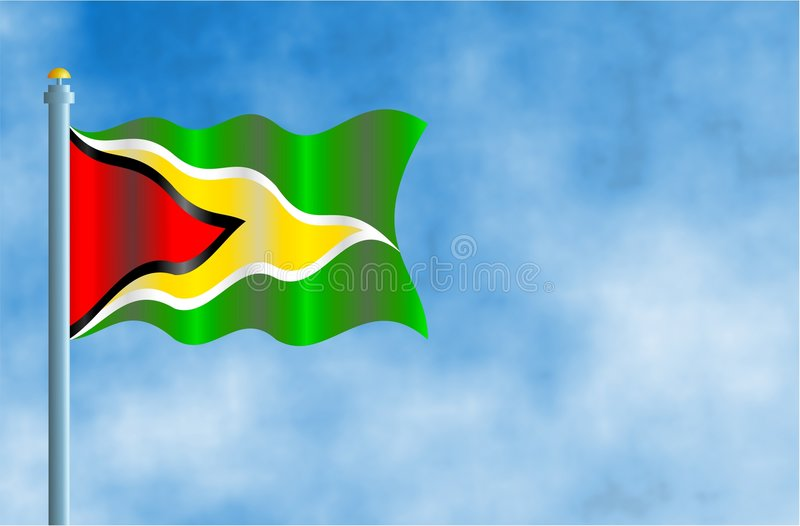 Гайана иллюстрация штока