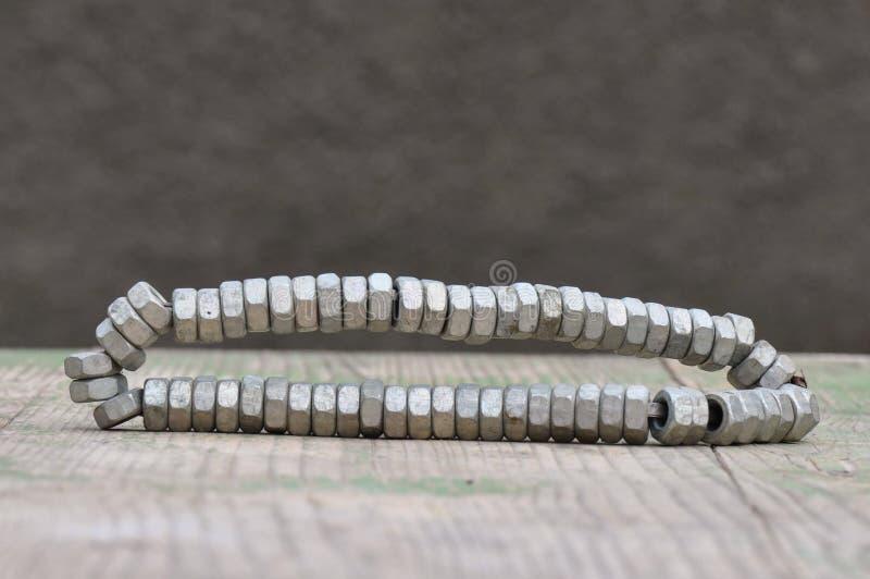 Гайка металла стоковая фотография rf