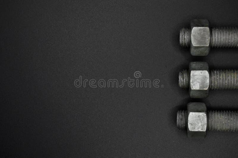 Гайки болта тяжелого метала, оборудование инструментов стоковое фото rf