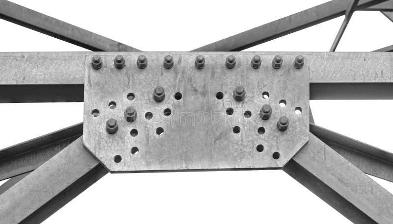 Гайки - и - болты электрической башни стоковое изображение rf
