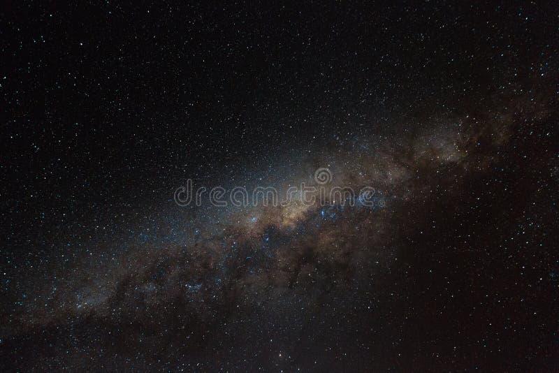Галактический центр с Марсом стоковое изображение