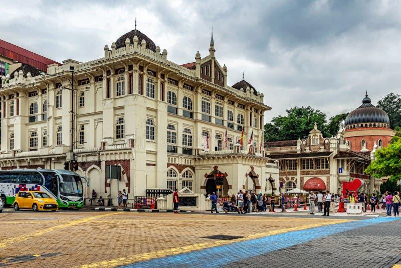 Галерея национального города музея и Куалаа-Лумпур музыки в Merdeka стоковые фото
