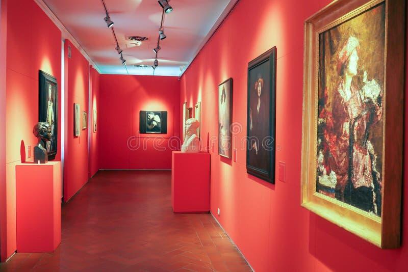 Галерея современного и современного искусства в Риме, Италии стоковое изображение rf