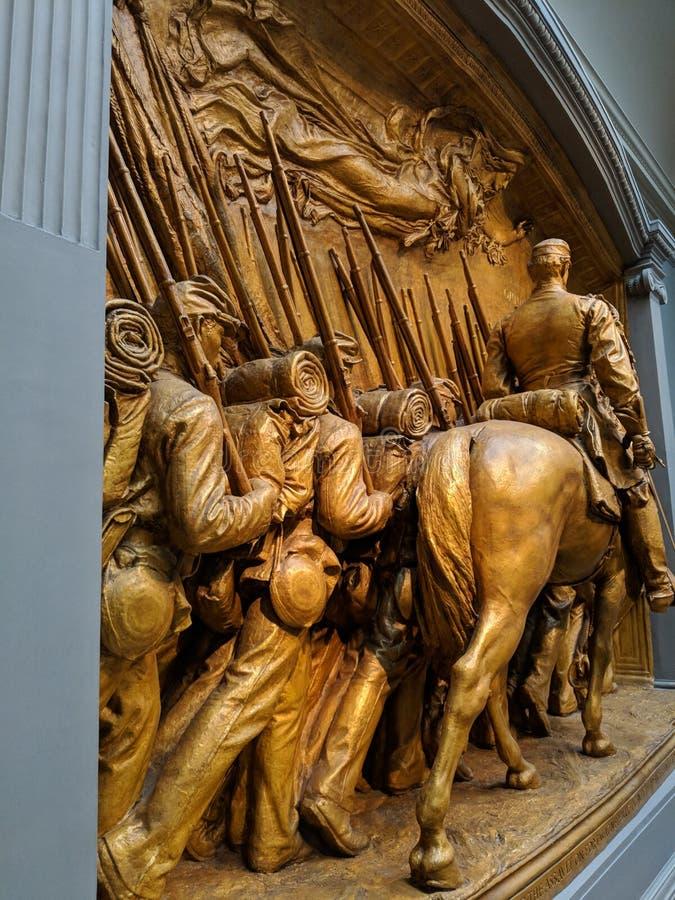 Галерея Shaw мемориальная национальная дисплея искусства стоковые фото