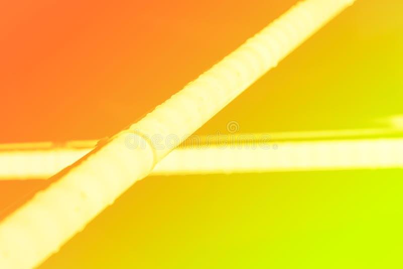Галоид или светлые элементы приведенные ламп пакуют для партии или игрового дизайна ночи Трубки неонового света Предпосылка гради стоковое изображение