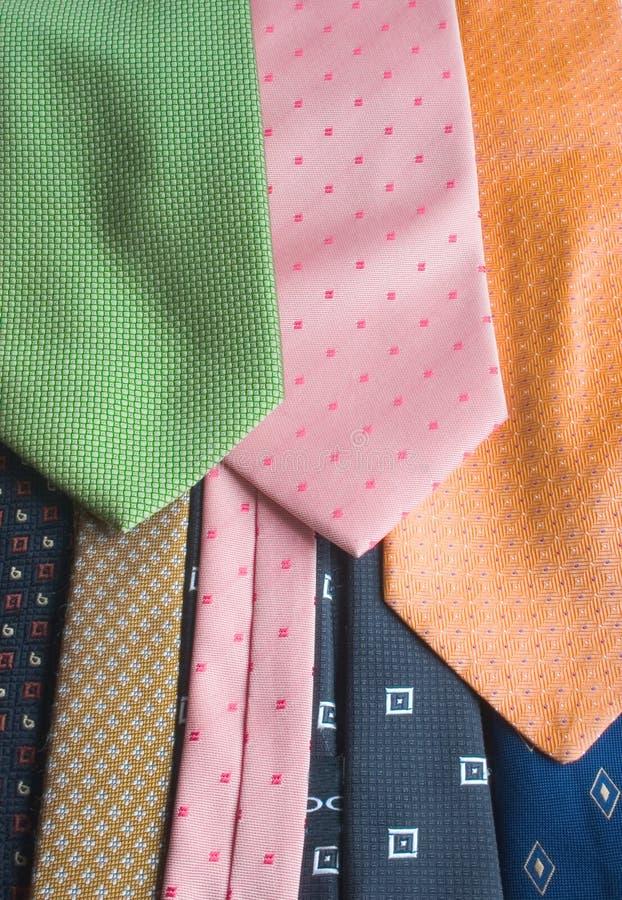 галстукы Стоковая Фотография