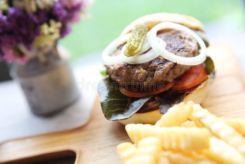Гамбургер говядины стоковое фото