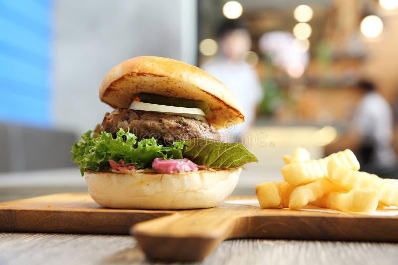 Гамбургер говядины стоковые фотографии rf
