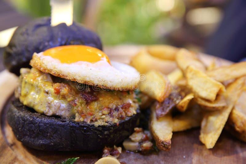Гамбургер говядины стоковая фотография rf