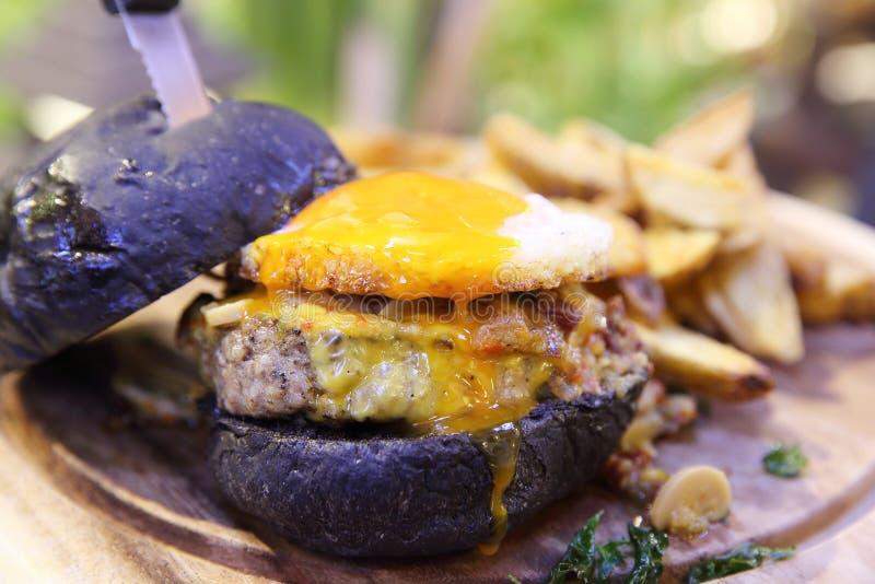 Гамбургер говядины стоковое изображение