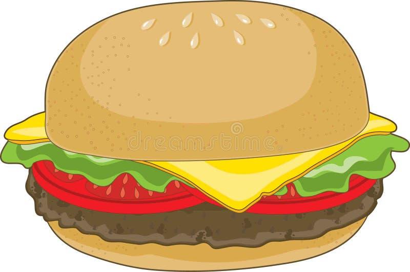 гамбургер иллюстрация вектора