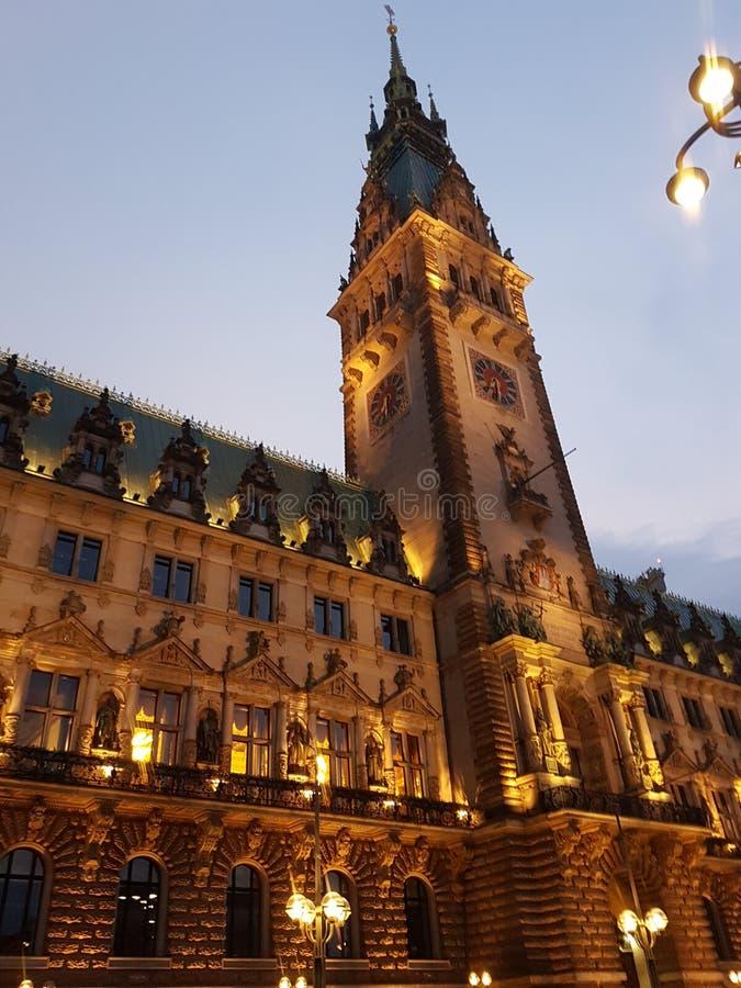 Гамбургер Rathaus стоковые фото