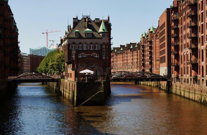 Гамбург Германия стоковая фотография rf