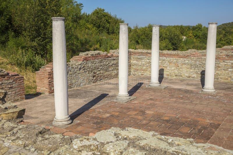 Гамзиградские руины стоковое изображение